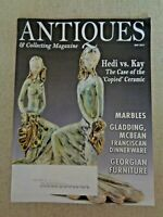 Antiques & Collecting Magazine May 2011 Marbles Gladding McBean Franciscan Ware