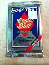 UD Upper Deck Looney Tunes Comic Ball Cards 12-card Sealed Pack Limited Edition