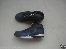"Nike Air Jordan 5/V 3Lab5 45 ""Metallic"" Black/Black-Metallic Silver"