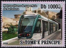 BARCELONA Metropolitan TRAM / Light Rail (Alstom Citadis Streetcar) Stamp
