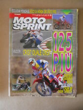 MOTOSPRINT n°23 1991  Test CAGIVA W8 CAGIVA SUPERCITY  [MS7]