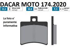 174.2020 PLAQUETTE DE FREIN SINTERED POLINI APRILIA RS 125 - SCARABEO 50 DITECH