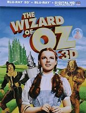 The Wizard of Oz STEELBOOK (Blu-ray 2013, 3D/2D Includes Digital Copy)