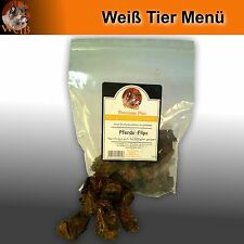 Weiß Premium-Plus Pferde-Flips 100g - Premium Snack für Hunde aus Pferdefleisch