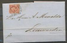 NR.2 j, PLAAT V,POS.94 AMSTERDAM C 13.1.1860 OP GEDRUKTE BRIEF- LEEUWARDEN ZF782