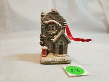 Lilliput Lane - Plum Cottage - Hand Made In England 1995 Annual Ornament