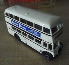 Bus Leyland PD2, juguete EFE die cast 1:76. promo  Leicester Mercury