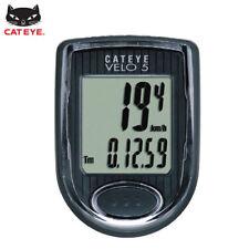 CATEYE Bike Bicycle Cycling Odometer Speedometer Passometer Waterproof VELO5