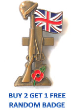 NEW Poppy Badges Pin Brooch 2020 UK Remembrance Day Poppy Flower Broach Badge