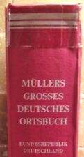 GERMAN GENEALOGY ANCESTRY REFERENCE GUIDE: Mullers Grosses Deutsches Ortsbuch