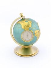 Sehr seltene feine Globusuhr  Wetterstation Angelus Suisse aus den 60er Jahren