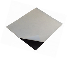 """1 Piece Magnetic Sheet 10"""" x 12"""" Flexible Adhesive 20 Mil Magnet Peel and Stick"""