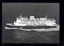 FE3077 - Oostende-Dover Ferry - Prins Albert , built 1978 - postcard