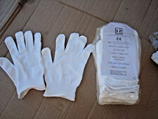 INDUSTRIAL WORK GLOVES, NYLON LINT FREE PKT of 1 Doz (12 pairs) free post  MIDAS