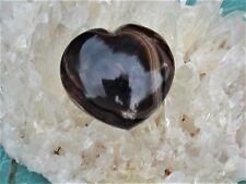 BlACK WHITE ONYX Heart-Protective Energy- Use for Massage-Moves Energy