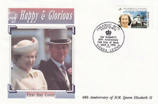 (28181) Sierra Leone FDC Queen 40 Years Accession 1992