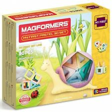 MAGFORMERS My First Pastel 30 Piece Magnetic Building Set