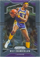 Wilt Chamberlain 2019-20 Panini Prizm Basketball Chrome Base Card #18 LA Lakers
