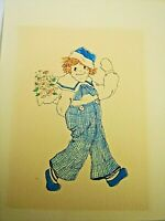 Vintage Raggedy Ann and Andy Drawings