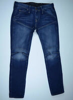 G-Star Raw 'ELWOOD HERITAGE EMBRO NARROW WMN' Jeans W27 L29 EUC RRP $289 Womens