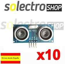 10x HC-SR04 Sensor Ultrasonidos Arduino Módulo Medidor De Distancia S0007