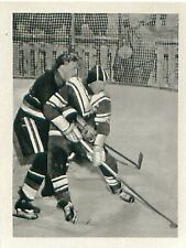 USSR Russia 8-0 Germany Ice hockey WINTER OLYMPIC GAMES ITALY 1956 CARD