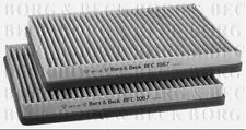 BFC1067 BORG & BECK CABIN AIR FILTER fits BMW 5 Series fits E39 11/95-