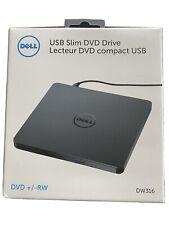 Dell DW-316 USB External Slim DVD RW Optical Drive