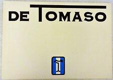 1974 De Tomaso Sales Brochure feat Deauville Longchamp Pantera L GTS Gruppo 3 4