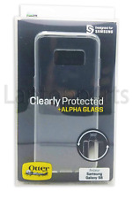 Genuine OtterBox Clear Case + Alpha Glass Screen Protector For Samsung Galaxy S8