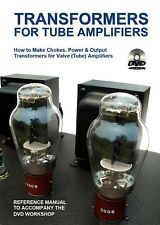 DVD program + Book: How to wind & construct transformers for tube amplifiers