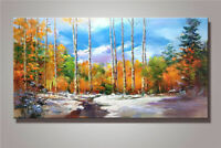 LMOP990 beautiful landscape&tree modern hand painted oil painting on canvas art
