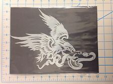 Eagle And Snake mylar reusable stencil 10 mils for Airbrush design art & craft