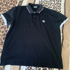 Genuine Moncler Short Sleeve Polo Size L