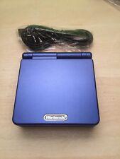 Consola game boy advance SP. nueva REFURBISHED azul blue