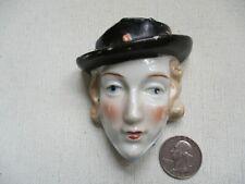 Vintage Lady Head Small Wall Pocket - Japan