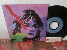 "marianne faithfull""single7""or.fr.island:8114117.de 1983 + encart juke-box"