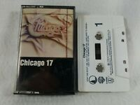 """1983 """"17"""" Chicago Audio Cassette Tape Columbia House O"""