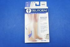 Truform 0865WH-2L 2X-Large size Compression Stocking Soft Top Open Toe 20-30 mmH