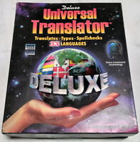 Universal Translator Language Force 33 Languages PC CD-ROM 1998 Deluxe Edition