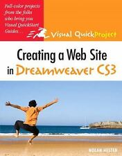 Creating a Web Site in Dreamweaver CS3: Visual QuickProject Guide