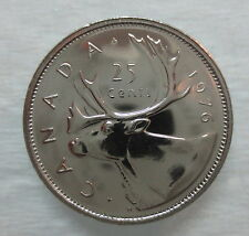 1976 CANADA 25 CENTS PROOF-LIKE COIN