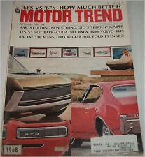 September 1967 Motor Trend  Magazine
