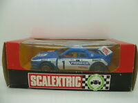Scalextric Lancia 037 Ref 4073,mint car unused, boxed with inscructions and blac