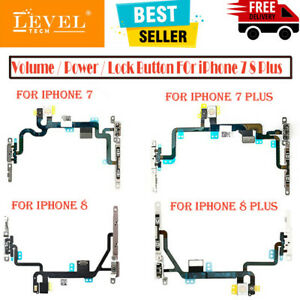 For iPhone 7 / 8 / 8 Plus Power Volume Button Mute Switch Flash Light Flex Cable