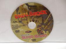 Shellshock & Battle Of Blood Island War Epic Movie DVD NO CASE Roger Corman SWV