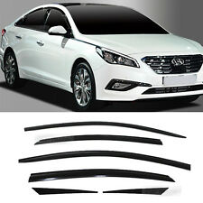 Smoke Window Sun Vent Visor Rain Guards 6P A196 For HYUNDAI 2015-2017 Sonata i45