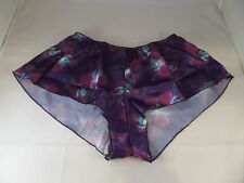 NWOT Yes Master Purple Floral Lingerie Bottoms Panty Panties Sz XS Must Read