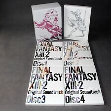 Final Fantasy Xiii-2 Ps3 Xbox Soundtrack Ltd Edition Japan Game Music Cd
