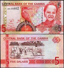 Gambia 5 Dalasis 2006 (2013) , REPLACEMENT Z 01 , UNC , P-25